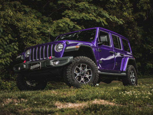 Autuko Wrapped a Dodge Jeep in KPMF Gloss Imperial Orchid - Photo 5 of 6